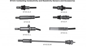 871CR Series Contacting Conductivity and Resistivity Sensors