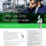 LR54 (24GHz) free space radar